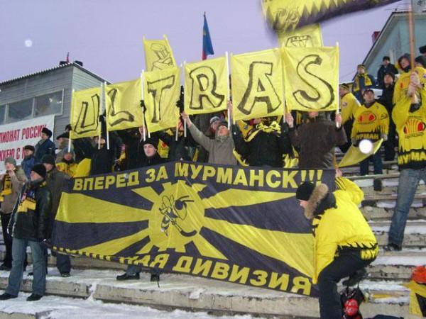 Фанатская «фирма» «Полярная дивизия» — она из самых боеспособных фанатских группировок Севера страны
