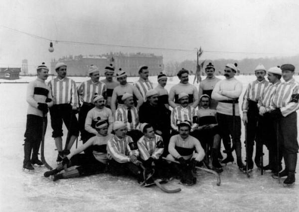 В начале века русские хоккеисты были лучшими в Европе