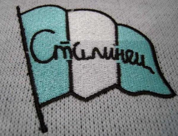 """Клубное знамя """"Сталинца"""" было как бело-голубым, так и зелёно-белым"""