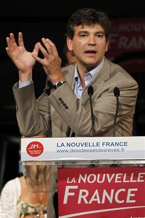 Арно Монтебур - министр промышленного возрождения Франции