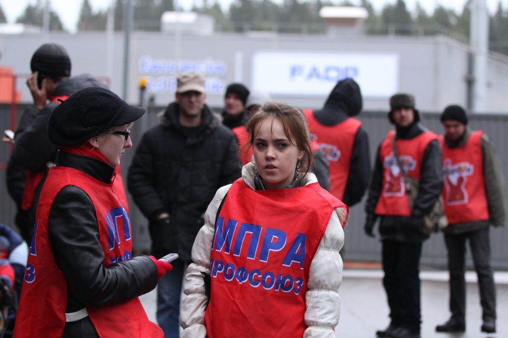 """Один из лидеров МПРА на """"Форесии"""" Надежда Широкова (справа)"""