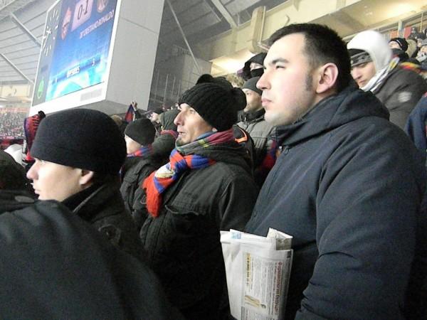 В целом организация матча в Лужниках была далеко не на европейском уровне