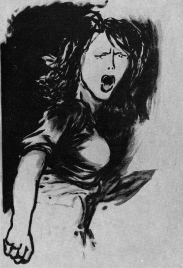 Современный феминизм делится на три направления: либеральный, социалистический и радикальный (Ренато Гуттузо. Девушка, поющая «Интернационал». 1953 г. Рим, собрание Амидеи)