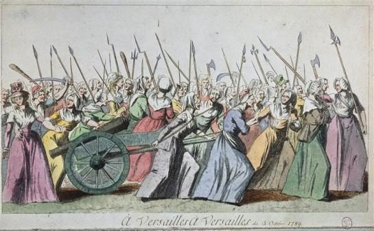Поход парижских женщин на Версаль 5 октября 1789 года