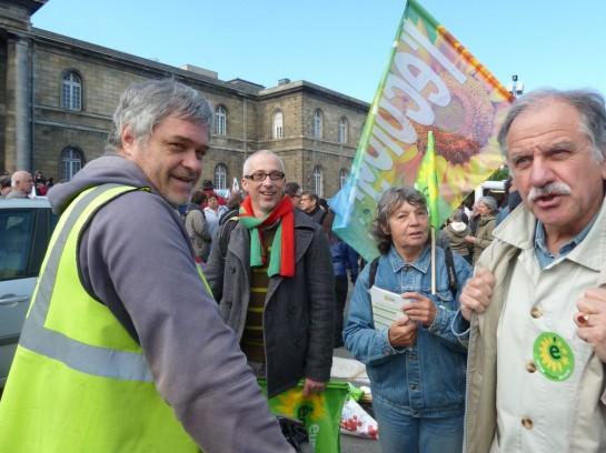 «Зелёная повестка дня» стала актуальной во Франции, причём для сил разной ориентации, включая правых, большая заслуга экологистов разных жанров