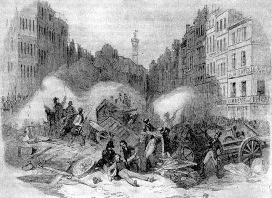Июньские события 1848 года во Франции Маркс назвал борьбой «за сохранение или уничтожение буржуазного строя»