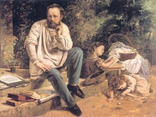 «Прудон, несмотря на все старания стать на почву реальную, остался идеалистом и метафизиком», считал Михаил Бакунин