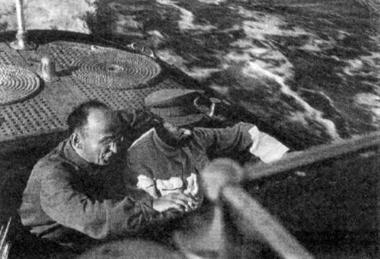 Иосиф Сталин и Лаврентий Берия на отдыхе