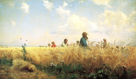 «Чувство» и «идея» общинности «целесообразно» и «осознанно» поддерживались  общинной практикой крестьянства