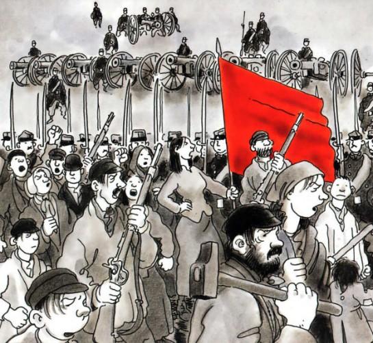 Коммунары верили, что их революция обновляет мир