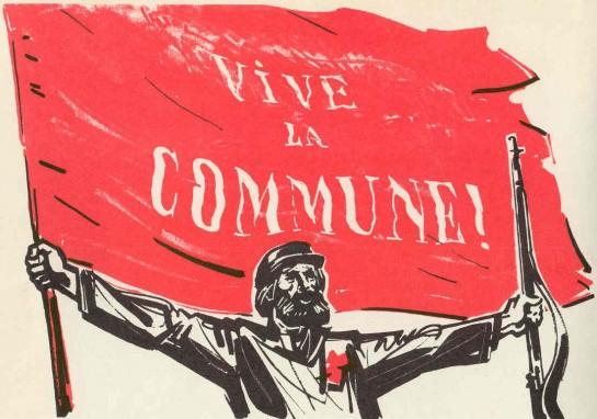 18  марта власть в Париже перешла в руки Центрального Комитета Национальной гвардии. ЦК состоял из делегатов от 215-ти батальонов пролетарских и мелкобуржуазных округов Парижа. На парижской ратушей взвился красный флаг