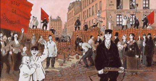 Парижская Коммуна вытекала из французской средневековой коммунальной традиции