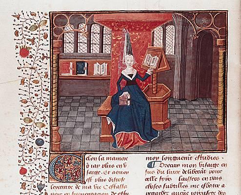 Первой женщиной, которая заговорила о правах и обязанностях своего пола, была француженка итальянского происхождения Кристина де Пизан (Christine de Pizan, 1364-1430