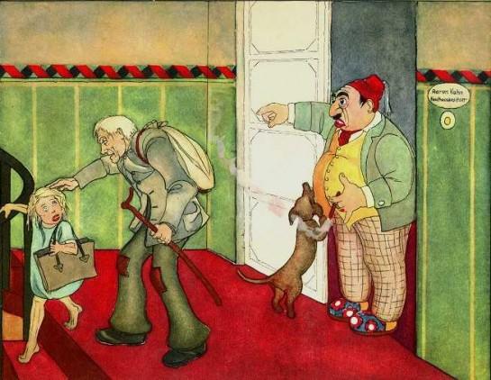В Веймарской Германии нацисты пришли к власти, использовав ненависть консервативной немецкой элиты к гиперактивным конкурентам-евреям. Иллюстрация из детской антисемитской книги Эльвиры Бауэр, изданной в 1936-м.