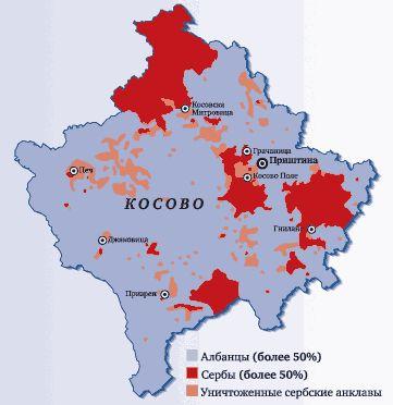 Анклавы Косова