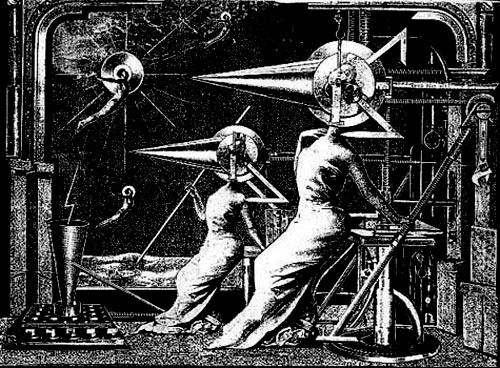 Работа Александра Лебедева-Фронтова из серии «Механизация плоти»