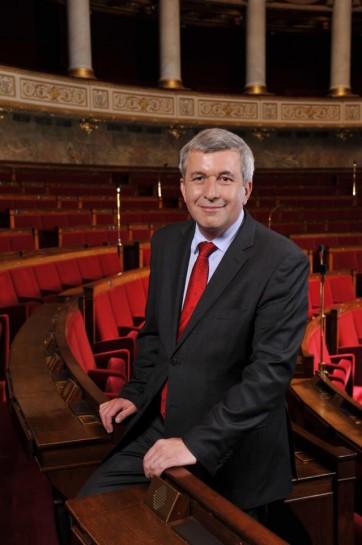 Председатель РГД, депутат Национального Собрания и мэр южного пригорода Парижа Кремлен-Бисетра Жан-Люк Лоран