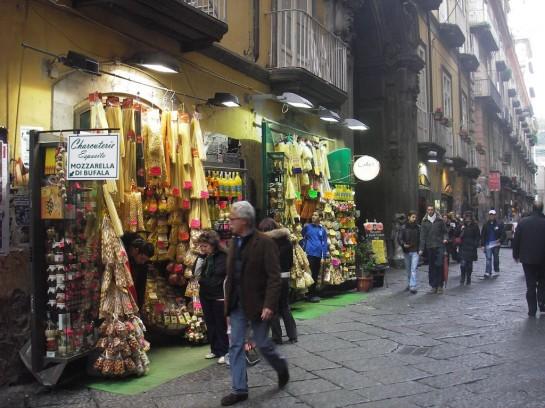 Исторические кварталы Неаполя входят в список всемирного наследия ЮНЕСКО, что совершенно справедливо