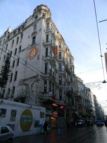 Офис Коммунистической партии Турции на улице Истикляль