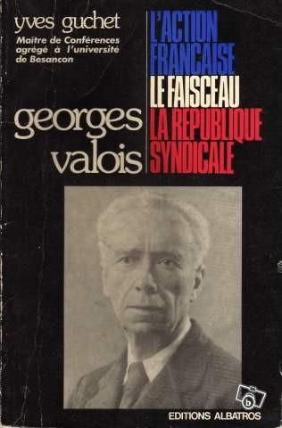 «Я менялся лишь в деталях, а в основном оставался верен себе», — говорил Жорж Валуа