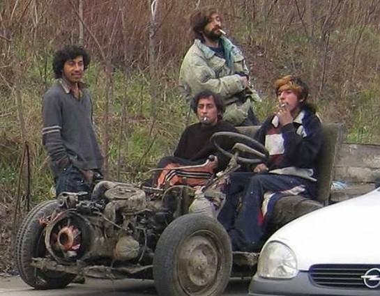 Румынский цыганомобиль