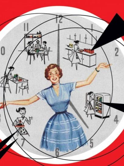 Частная кухня является для миллионов женщин учреждением, напрягающим до предела все их силы, отнимающим и растрачивающим их время; в ней женщины теряют здоровье и настроение; она, является предметом их постоянных забот, особенно тогда, когда средства, как у большинства семейств, ничтожны