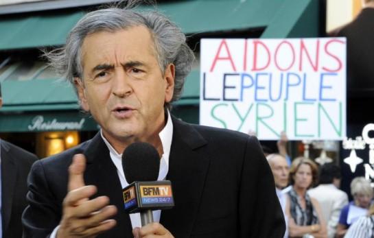 Бернар Анри Леви - некогда маоист, превратившийся впоследствии в советника многих французских президентов и участника масонских клубов. Этот пламенный борец за права гомосексуалистов и иммигрантов во Франции во внешней политике предпочитает поддерживать реакционных фундаменталистов, что в Ливии, что в Сирии