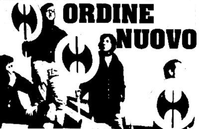 """Плакат итальянской неофашистской организации """"Новый порядок"""""""