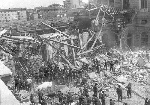 2 августа 1980 года. Вокзал в Болонье после взрыва