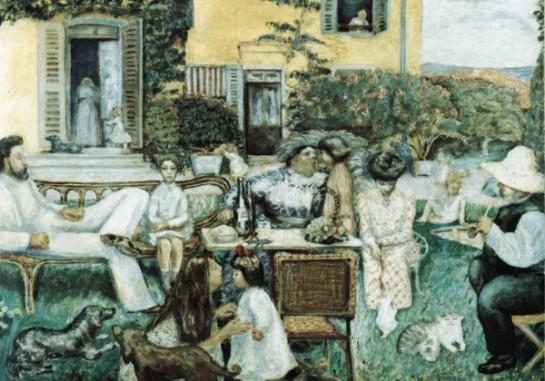 """Современный брак — это школа лжи и лицемерия, а адюльтер его неизбежный спутник/ Картина Пьера Боннара """"Семья"""" (1900)"""