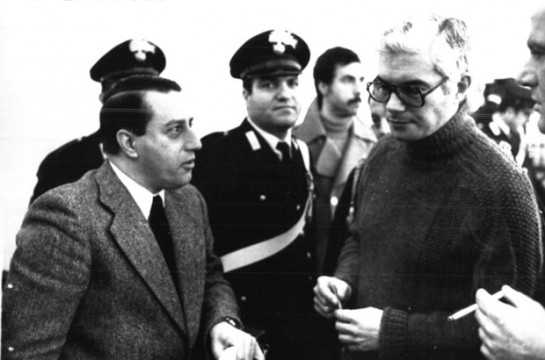 неофашист и одновременно платный осведомитель спецслужб Гуидо Джанеттини (слева) и исполнитель миланского теракта Франко Фреда