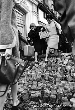 Баррикады в Париже в мае 1968 года