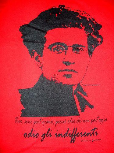 """Основатель ИКП Антонио Грамши. Его лозунг: """"Ненавижу равнодушных!"""""""
