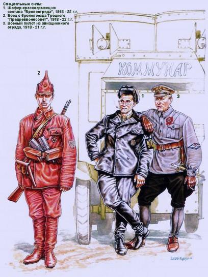 Уже в 1918 году военно-политическому руководству РСФСР стала ясно, что необходимо ввести для РККА регламентированную форму одежды