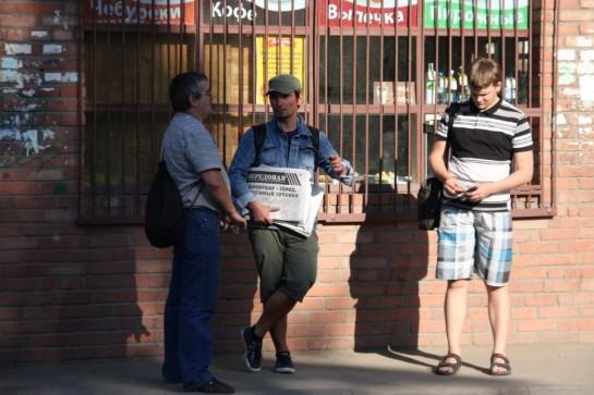 Разговор с рабочими целлюлозно-бумажного завода в Коммунаре о росте цен и 134-й статье Трудового кодекса