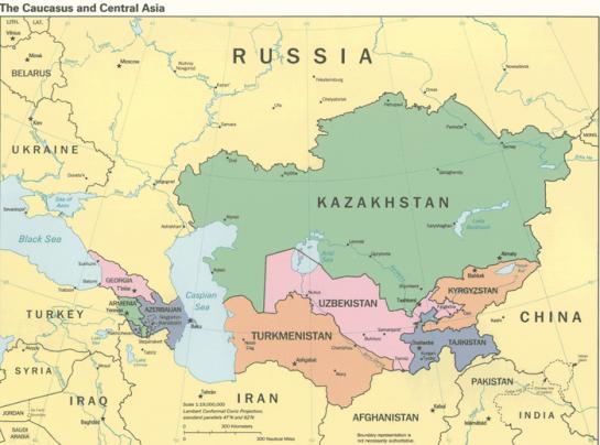 """Наибольшее число территориальных противоречий в настоящее время существует на границах Узбекистана, Киргизии и Таджикистана, между которыми в советский период была разделена территория """"пороховой бочки"""" Центральной Азии — Ферганской долины»"""