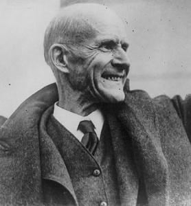 Юджин Дебс (1855 — 1926) - рабочий активист и талантливый пропагандист, популяризатор социалистических идей в Соединенных Штатах Америки рубежа XIX–XX веков
