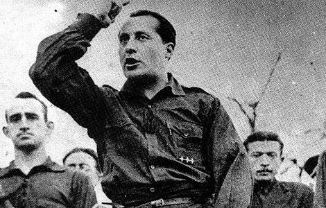 """Хосе Антонио: """"Рождение социализма было исторической справедливостью. Трудящиеся вынуждены защищаться от этой системы, которая даёт им права и обещания, но не заботится о том, чтобы обеспечить им в равной мере справедливую жизнь"""""""