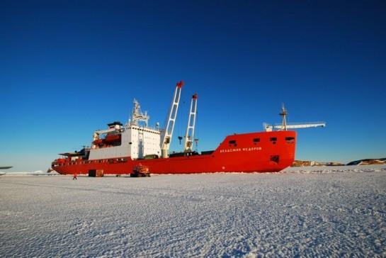 Исследовательское судно «Академик Фёдоров» - одно из немногих судов такого типа, оставшихся «в живых» после постсоветского разорения 90-е годы