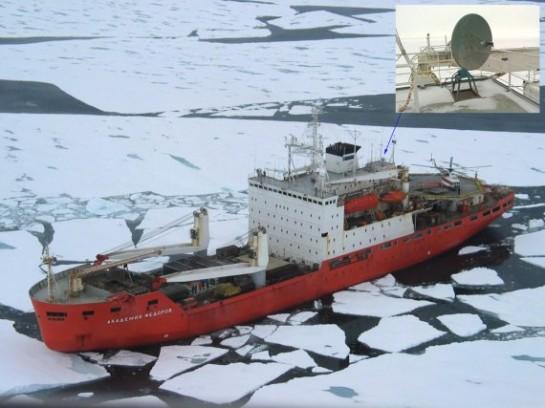 """Исследовательское судно """"Академик Фёдоров"""" - единственное судно этого класса , что уцелело в 90-е"""