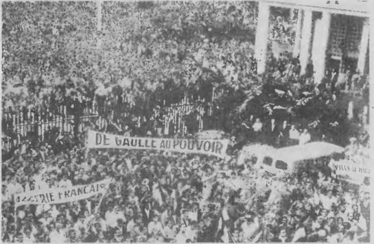 Французский конституционный референдум проводился 28 сентября 1958 года во Франции и её колониях. Более 80 % голосов было подано за Конституцию, которая в результате была принята 4 октября 1958 года и на следующий день была провозглашена Пятая республика