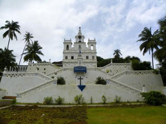 Церковь непорочного зачатия в Панаджи (Гоа)