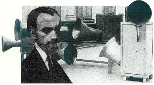 Итальянский футурист Луиджи Руссоло - основатель шумовой музыки