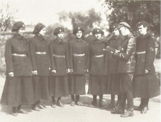 1919 г. Петроград. Первые женщины-милиционеры