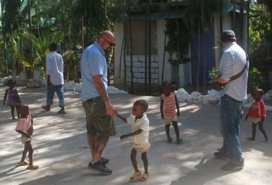 Джанлука Ионноне в Кении