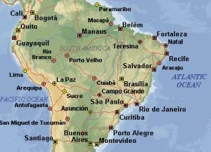 Порту-Алегри - административный  центр самого южного в Бразилии штата Риу-Гранди-ду-Сул, самый  многочисленный на юге страны города