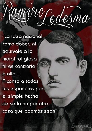 Рамиро Ледесма Рамос (1905-1936) -  философ, основатель «Хунты национал-синдикалистского наступления»