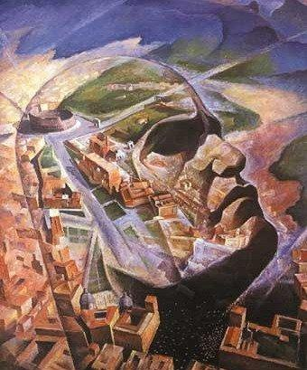 Для своих самых страстных приверженцев фашизм был — без всякого преувеличения - орудием открытия новой эры. Портрет Муссолини