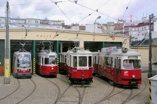 Знаменитые венские трамваи ходят по расписанию