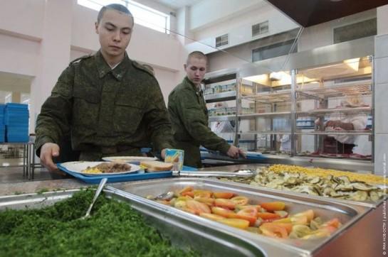Солдатский салат-бар в Сертолово-2